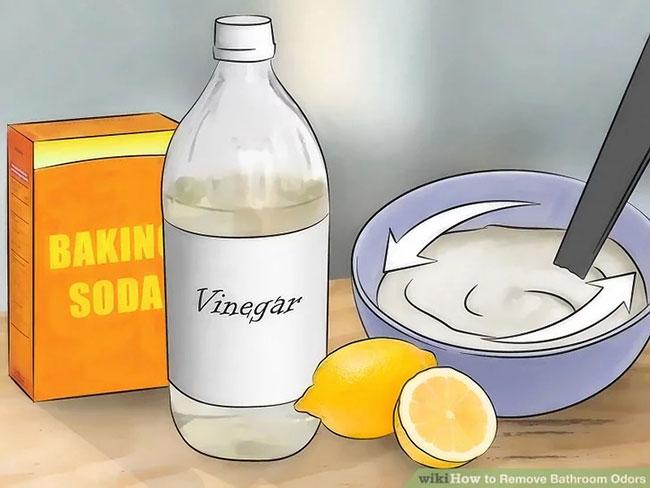 baking soda chanh giam