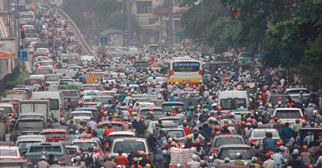 Ô nhiễm không khí do khí thải tại các thành phố lớn