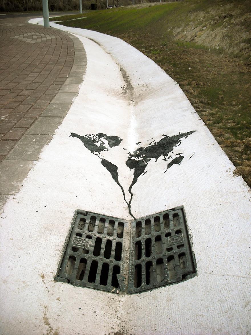 Thông điệp bảo vệ môi trường từ những bức ảnh tường