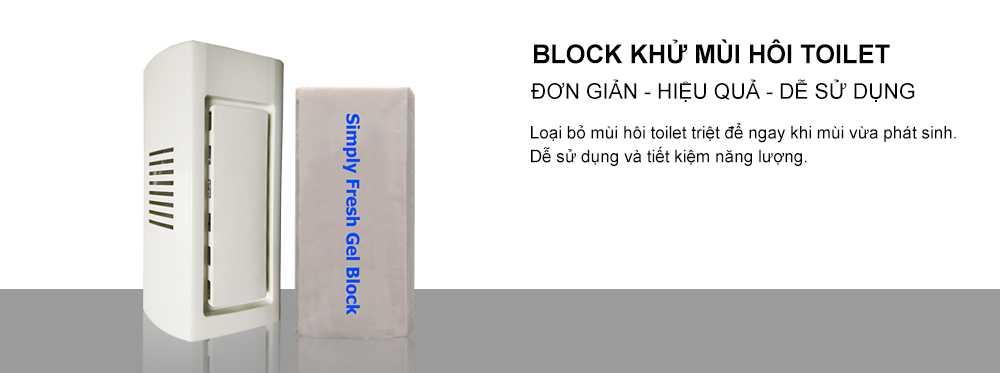 Xử lý mùi toilet