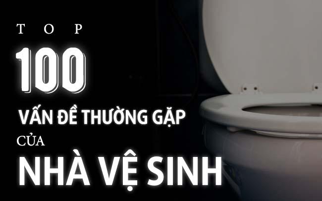 vấn đề thường gặp trong nhà vệ sinh