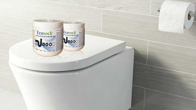 Thuốc thông bồn cầu EcoSock giải pháp tuyệt vời cho bạn