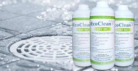 Xử lý mùi hôi của cống bằng chế phẩm vi sinh EcoClean 1XF HC