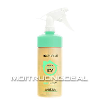 Chai khử mùi hữu cơ Resparkle - Khử mùi tự nhiên không độc hại