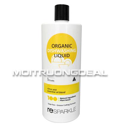 Nước rửa chén hữu cơ - Chai bổ sung 1L
