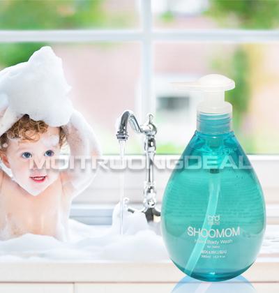 SHOOMOM - Dầu gội và sữa tắm hữu cơ cho bé