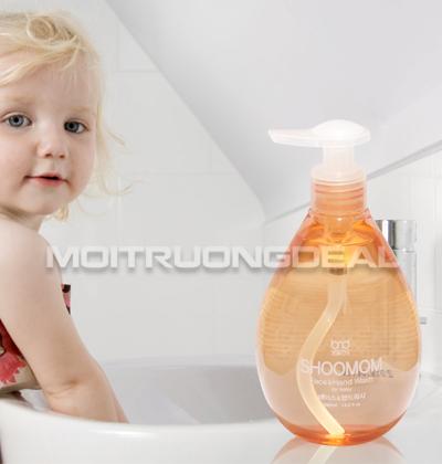 SHOOMOM - Nước rửa tay và vệ sinh da mặt hữu cơ cho bé