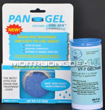 Viên nén bảo dưỡng đường ngưng Pan-GelTM màu xanh UT7